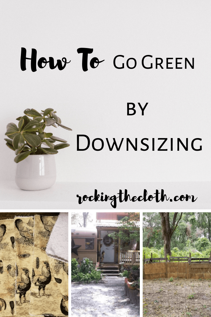 go-green-by-downsizing