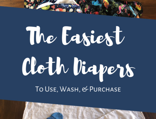 What Are The Easiest Cloth Diapers?