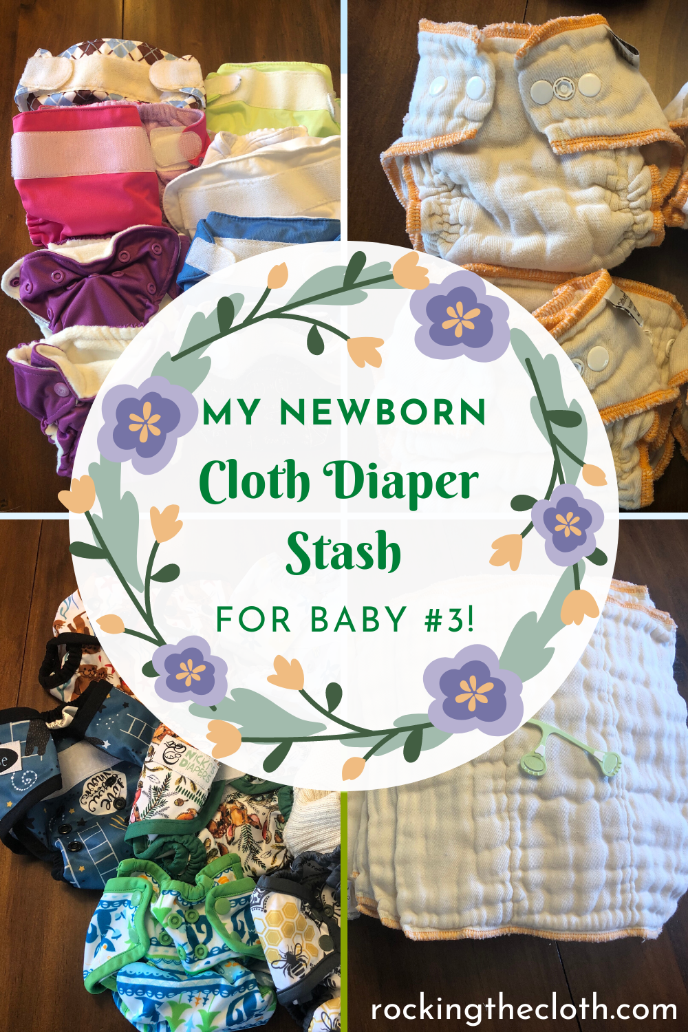 My Newborn Cloth Diaper Stash – Diapering from 5-10 lbs